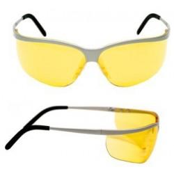 Veiligheidsbril sport polycarbonaat 3M amber