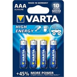 Varta AA batterijen, set van 4.