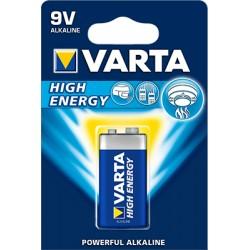 batterij alka-high 9v 1x4922