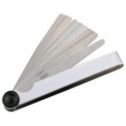 Voelermaat bladdikte 0,05-1mm staal 20 delig