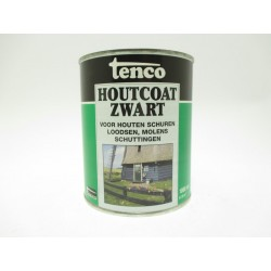 Tenco houtcoat zwart (1000ml)