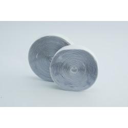 Klittenband wit zelfklevend 5m