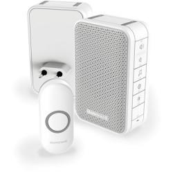Deurbel draadloos plug-in62139 Honeywell verticale bel
