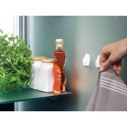 Minihaakjes wit ovaal met Powerstrip® 57533