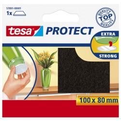 Bescherm vilt 80x100 bruin Tesa 57891