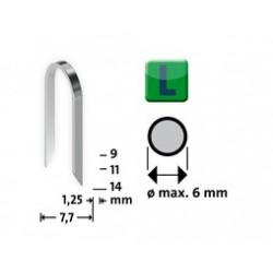 Nieten 36l-14 mm 1000 st. 420607