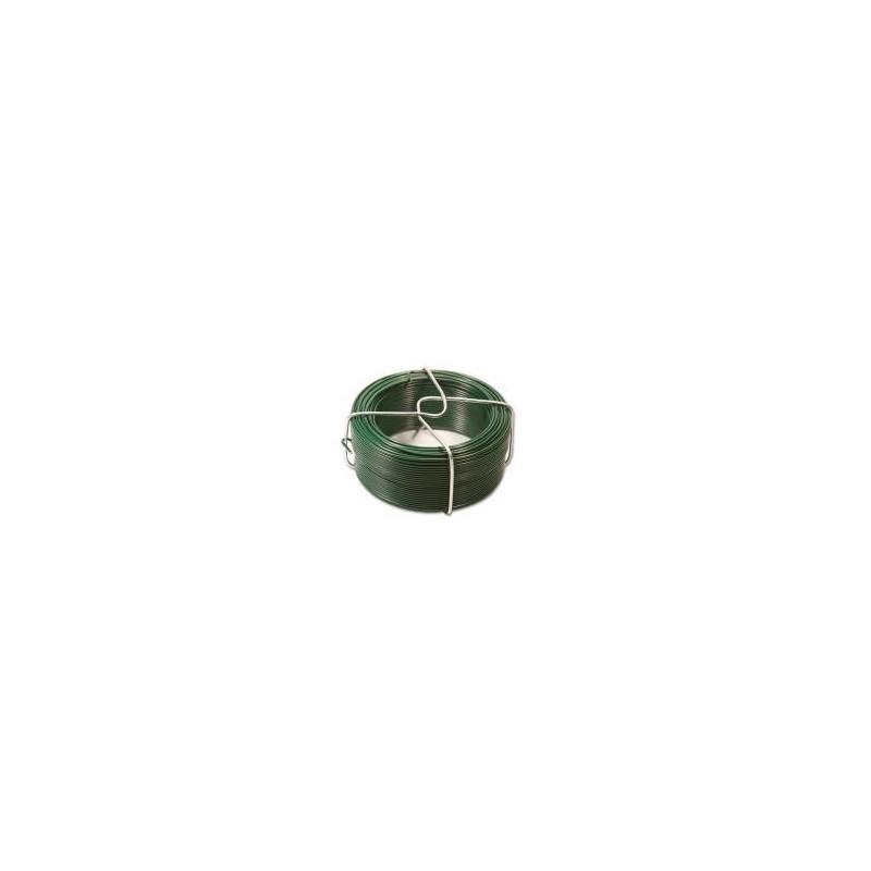 IJzerdraad groen geplastificeerd 1.35mm 50-5  2500200