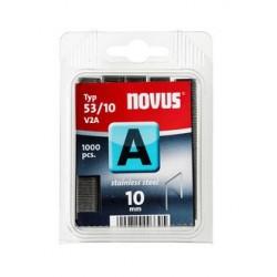Nieten A53-10 mm 1000 st. rvs 042-0458