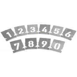 cijfersjabloonset 11932 20 mm