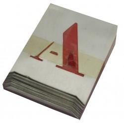 lettersjabloonset 500105 50 mm