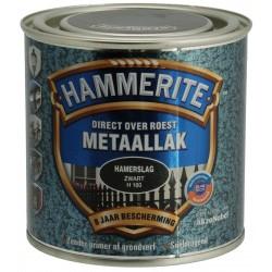 Hammerite zwart hamerslag (250ml)