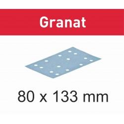 Vel schuurpapier voor RTS 400 Vlakschuurmachine 80x133 Festool