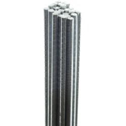 Bundel ijzerdraad verzinkt 1.2mm, 1 meter 1000 stuks