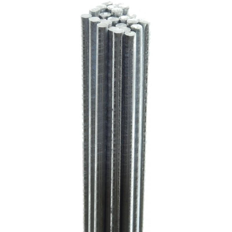 Bundel ijzerdraad verzinkt 1.2mm, 1 meter 25stuks
