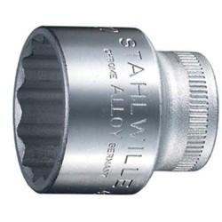 Dop nr.45 3/8  12-kant 18mm