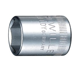 Dop nr.40 1/4 6-kant 6mm