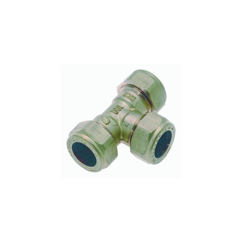 Knelkoppeling T-Stuk 15X22X15 82504