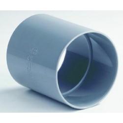 PVC Dubbele Mof 40 mm. 51002