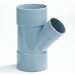 PVC T 45 Gr. 3 X Mof 40 mm.