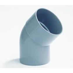 Lijmbocht PVC 45Gr.Mof/Spie 40