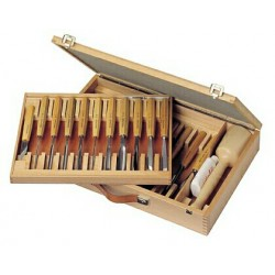 Gutsenset Pfeil 25-dlg. in houten koffer  081299