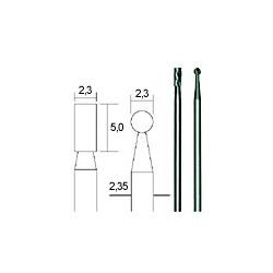 HM-freesset 2-delig (cilinder + kogel) (28750)