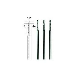 Mikro spiraalboren 1,2 mm. 3 st. (28856)