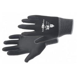 Handschoen zwart maat 10