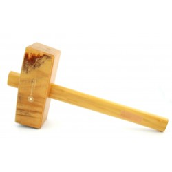 Houten hamer vierkant Lignstone