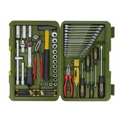 Doppenset gereedschapkoffer 23650
