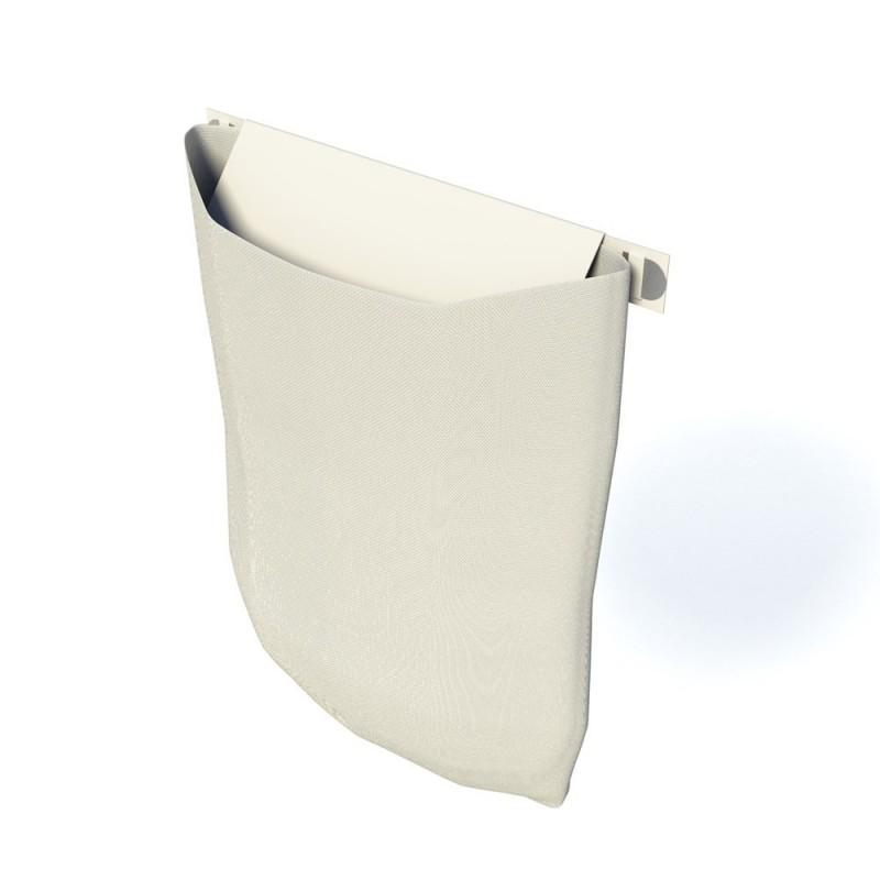 Secumax brievenbus beveiliging met zak grijs 1001502